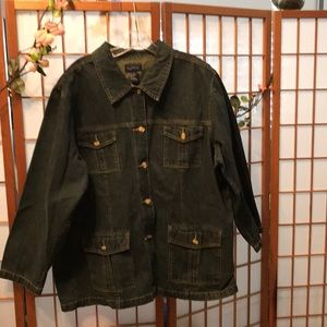 Cute denim jacket size 22.